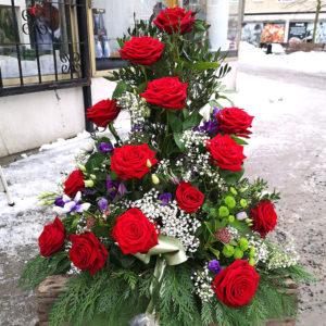 Dekor begravning