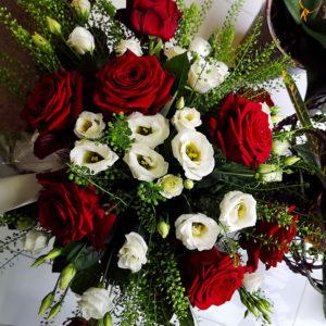 ljuvlig bukett Crossandra blommor Spånga