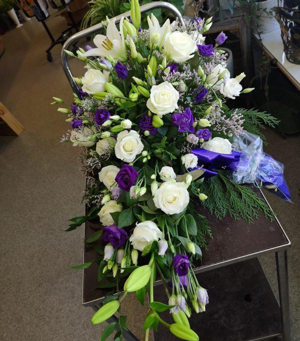 blomarrangemang till begravning