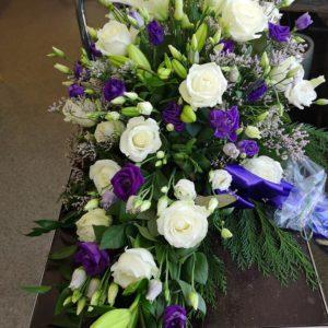 blomdekor begravning Stockholm