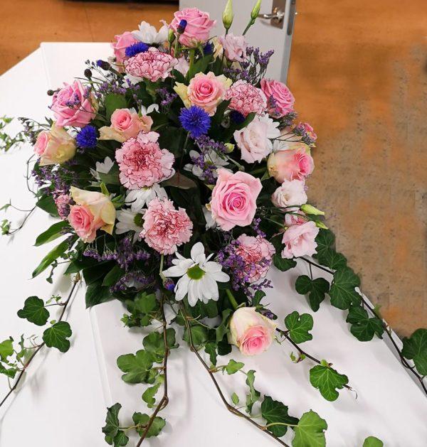 blommor till kistan